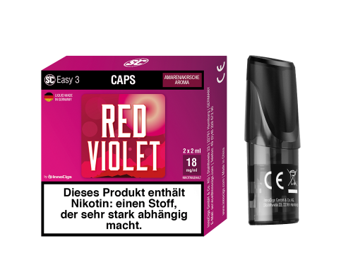 SC Easy 3 Caps Red Violet...