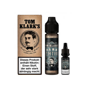 Tom Klarks - Dark Menthol 50ml + 18mg/ml Shot 10ml