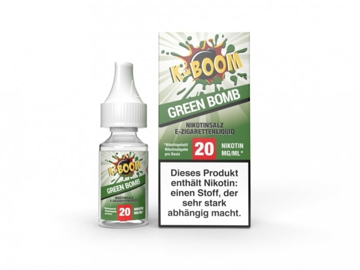 Green Bomb Liquid 10 ml Nic...