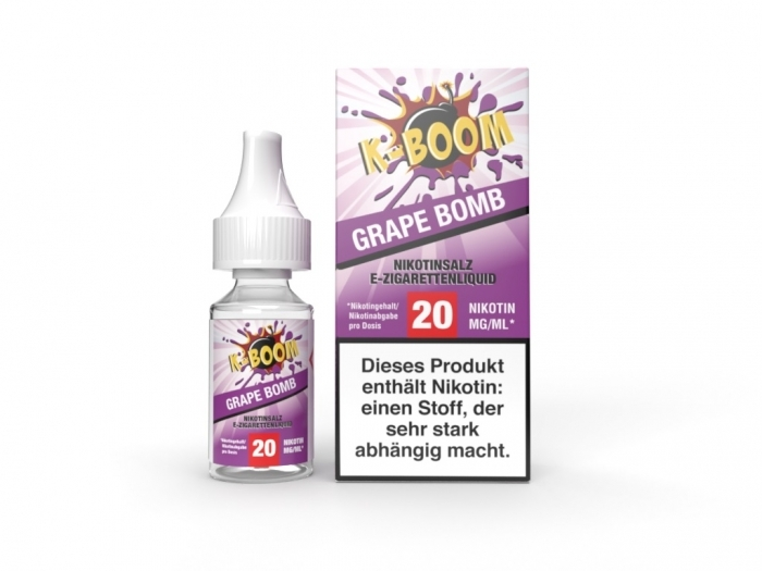 Grape Bomb Liquid 10 ml Nic...