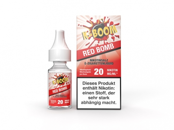 Red Bomb Liquid 10 ml Nic...